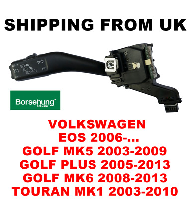 Oe Indicator Stalk Cruise Turn Signal Switch Vw Eos Golf Mk5 Plus Mk6 Touran Mk1