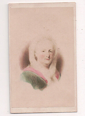 Vintage CDV Martha Washington 1st First Lady United States of America