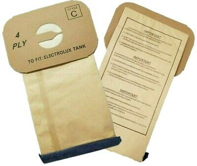 100 Bags for Electrolux Canister Vacuum Style C ~ MADE IN USA !!