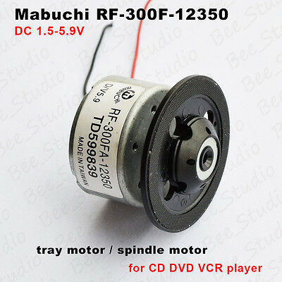 DVD DC 5.9V Micro tray motor / spindle motor RF-300F-12350 for CD DVD VCR player