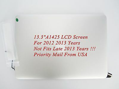"""13.3""""A1425 LCD Screen Display Assembly For Apple Macbook Pro Retina 2012-2013 US"""