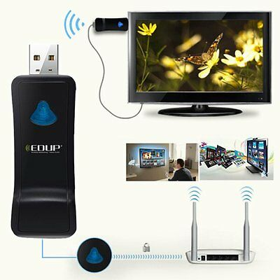 EDUP EP-2911 150Mbps WiFi Signal Receiving Wireless TV Network USB Card Adapter