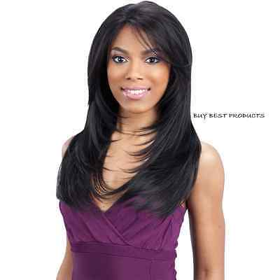 Freetress Equal Green Cap Synthetic Lace Front HAIR Wig - GIANNA
