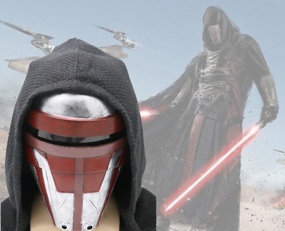 XCOSER Darth Revan Mask Movie Star Wars The Revanchist Helmet Cosplay Props