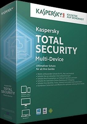 Kaspersky Total Security Multidevice 3 Usuario 24 Meses ESD Télécharger
