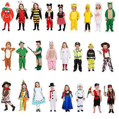 Toddler Size Fancy Dressing Up Costume World Book Day Week Outfit Children Kids