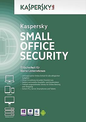 Kaspersky Pequeña Office Security 4,1 Fileserve,5 Workst 5 Móviles. RENOVACIÓN