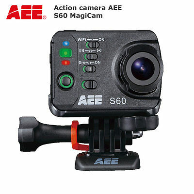 AEE MagicCam S60 Action Video Camera WIFI Waterproof 1080p