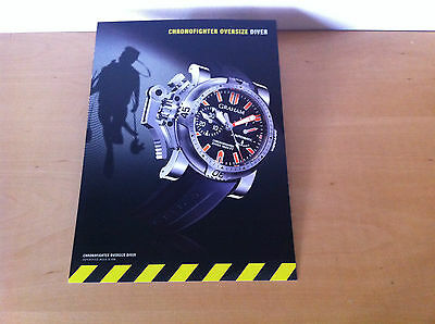 Usado - GRAHAM - Ficha Técnica CHRONOFIGHTER OVERSIZE DIVER - For Collectors