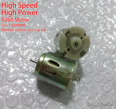 High Speed Power DC 7.5v 5v Small R260 Motor for RC Remote Control Car Toy Boat