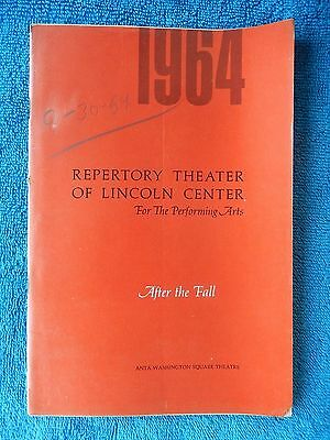 After The Fall - ANTA Theatre Playbill - September 1964 - Jason Robards