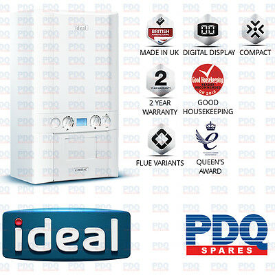 Ideal Logic 30 Kw Combi Boiler With 2 Year Warranty 210805 And Flue 208171 - New