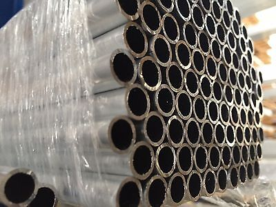 Aluminium Round Tube Pipe outside diameters 35-150mm and lengths 500-2000mm