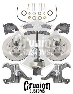 mcgaughys chevy c10 1960 62 2 5 3 lowering kit w 6 lug power disc 1987 C10 Lowered 2 mcgaughys chevy c10 1960 62 drop spindles 6 lug power disc brake conv 9