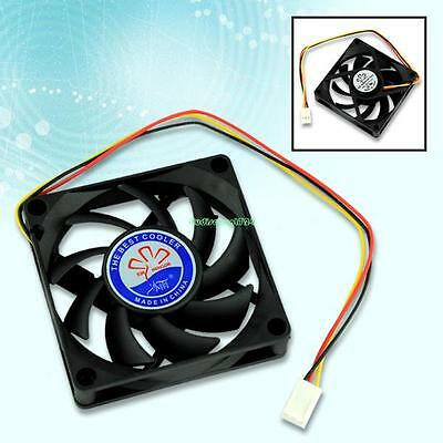 70mm 3 Pin FAN FOR PC/COMPUTER CASE ARCTIC COLD +SILENT