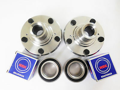 FRONT WHEEL HUB With NSK / NTN front Wheel Bearing Set For