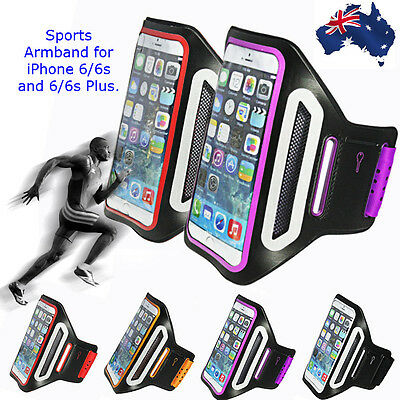 Sports Gym Running Slim Armband for Apple iPhone 6 7 & 6S 7S Plus Arm Band Case