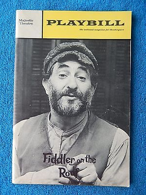 Fiddler On The Roof 1967 London Theatre Programme 163 0 99