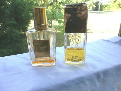 Gorgeous Evlan White Shoulders Colognes Vintage Lot Of Two