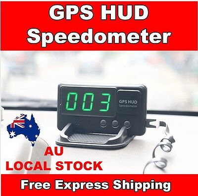 2016 Universal GPS HUD Head Up Display MPH/ KM/h Speed Limit Adapter Included