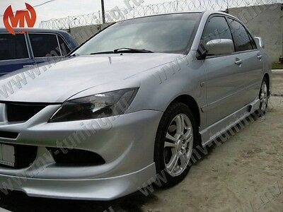 Front Eyelids Eyebrows Headlights Narrow Covers for Mitsubishi Lancer IX 9