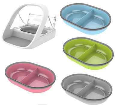 Surefeed Feeder SPLIT Bowl - Use with Microchip & Sealed Feeders - Add COLOUR!