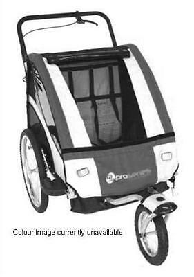 Pro Series Baby/Kids/Childrens Bicycle Trailer/Jogger/Pram with Suspension BLUE