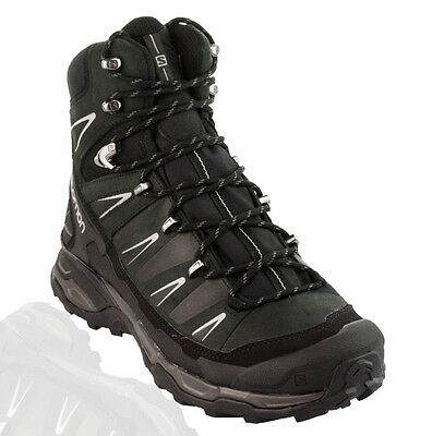 Salomon - X Ultra Trek GTX Hiking Boots - Black/Black/Autobahn
