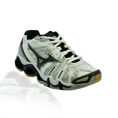Mizuno - Wave Tornado 8 Volleyball Shoe - White/Black