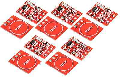 10X 2.5V-5.5V TTP223 Touch Key Module Capacitive Self-lock/No-lock Switch Board