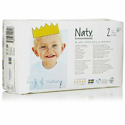 Naty by Nature Babycare Nappies - Size 2 34s (Pack of 2)