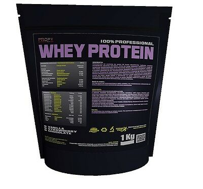 Whey Protein 100% Profesional 1kg Chocolate PROPT