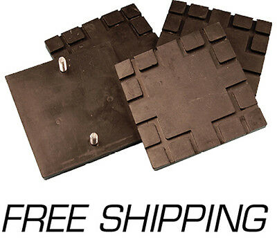 OEM Rubber Lift Pad for Challenger CL9 & CL10 ( Set Of 4 pads and hardware)