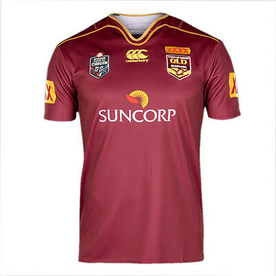 Queensland State Of Origin 2016 Mens Jersey Maroon