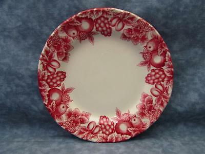 "LIE7 Pink by Libbey Pink Fruit & Berries 7-1/2"" Salad Plate L48"