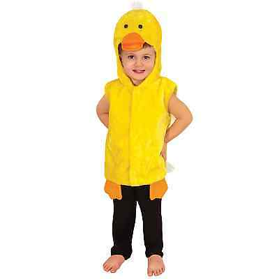 Duck Toddler Fancy Dress Up Costume Animal Outfit Hat Book 2-3 Years Kids Swim