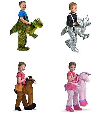 New Dinosaur / Unicorn / Horse unisex kids fancy outfit dress up costume ride on