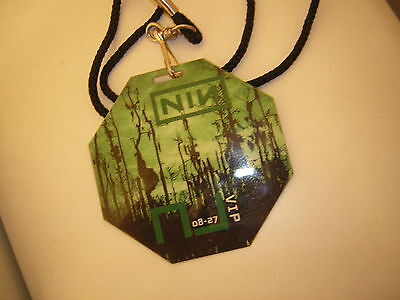 Nine Inch Nails Backstage Pass 2008 8-27-2008 New Jersey Trent Reznor