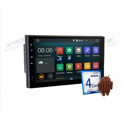 """Radio Dvd Gps 2Din Coche Universal Lcd 7"""" Tactil Android 4.4.4 Kitkat Bt Usb Sd"""
