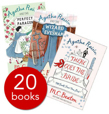 Agatha Raisin Collection - 20 Books