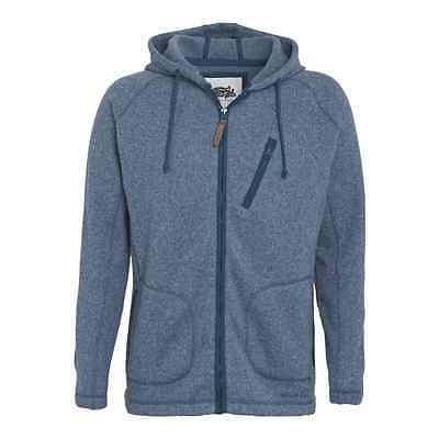 Weird Fish Men's Zip Thru Hooded Soft Knit RRP £69.95