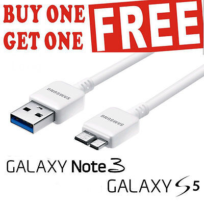 USB 3.0 Cable Data Charging Sync Lead OEM Quality for Samsung Note 3