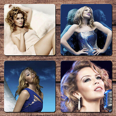Kylie Minogue Coaster Set NEW Kiss Me Once Into the Blue Aphrodite All the Lover