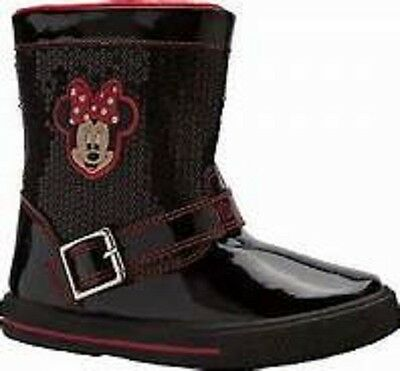Girls Minnie Mouse Disney Sequin boot size 8 (2934833 loc 103)