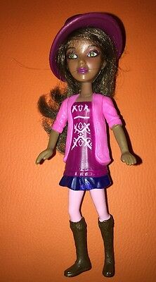 """McDonald's 2011 Alexis Spin Master African American Liv Doll Cake Topper Toy 6"""""""