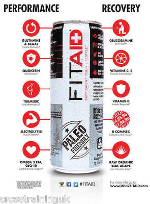 FITAID® PACK Clean Performance Clean Recovery LIFEAID® CrossFit Fitmess Paleo