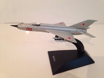 MIG-21 USSR Fighter - New - 1:144 Scale Special Promotion Diecast Model