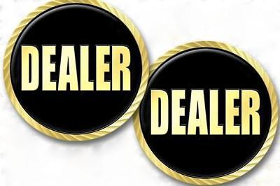 Elegant Heavy Dealer Button Poker Card Guard NEW Limited QTY Remaining