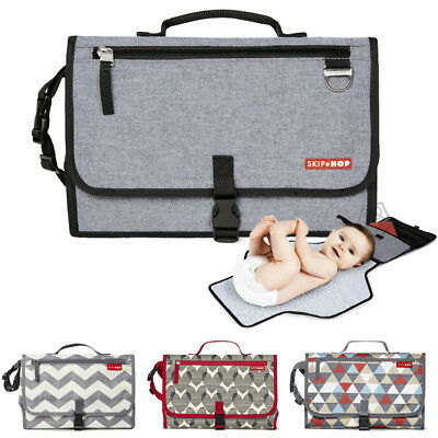NEW Skip Hop Pronto Changing Station Baby Diaper Nappy Mat Bag with Wipes Holder
