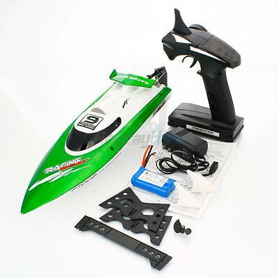 Feilun FT009 2.4GHz 4 Channel Water Cooling High Speed Racing RC Boat Gift Green